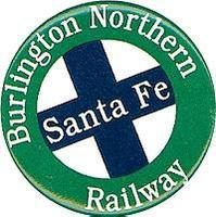 Phil-Derrig (bulk of 12) Railroad Magnets Burlington Northern & Santa Fe Model Railroad Mug Magn #65