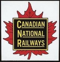 Phil-Derrig (bulk of 12) Railroad Magnets Canadian National (Maple Leaf) Model Railroad Mug Magnet G #74