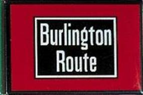 Phil-Derrig (bulk of 12) Railroad Magnets Chicago, Burlington & Quincy ''Burlington Route'' Model #8