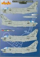 Phoenix-Decals 1/32 A7E Corsair II Last Mission Vol.3 for TSM
