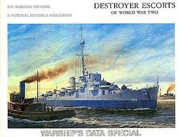 Pictorial-Histories Destroyer Escorts of WWII Authentic Scale Model Boat Book #883