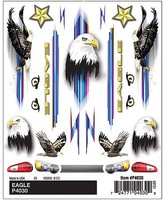 Pine-Car Dry Transer Decals, Eagle