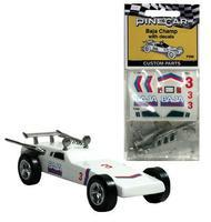 Pine-Car Pinewood Derby Baja Champ Parts/Decals Pinewood Derby Decal and Finishing #p330