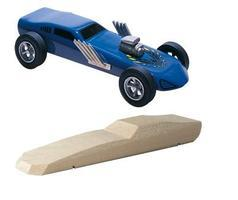 Pine-Car Pinewood Derby Funnycar Pinewood Derby Car #p362
