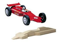 In Stock Pinewood Derby Cars