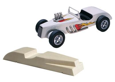 Pine Car Pinewood Derby Roadster -- Pinewood Derby Car -- #p364