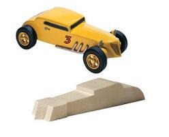 Pine-Car Pinewood Derby Deuce Coupe Pinewood Derby Car #p365