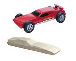 Pine-Car Pinewood Derby Ferrari Pinewood Derby Car #p366