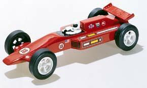 Pine Car Pinewood Derby Formula Grand Prix Deluxe -- Pinewood Derby Car -- #p372