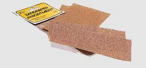 Pine Car Pinewood Derby Sandpaper Assortment -- Pinewood Derby Tool and Accessory -- #p380