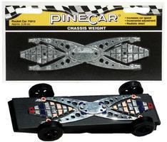 Pine-Car Pinewood Derby Rocket Car Chassis Weight Pinewood Derby Car Weight #p3913