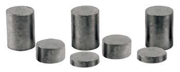 Pine Car Tungsten Incremental Cylinder Weights 2oz -- Pinewood Derby Car Weight -- #p3914