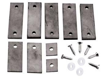Pine Car Tungsten Incremental Plate Weights 3oz -- Pinewood Derby Car Weight -- #p3917