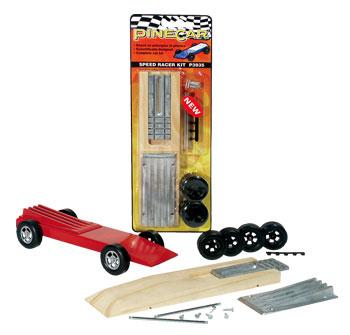 Pine Car Pinewood Derby Speed Racer Kit -- Pinewood Derby Car -- #p3935