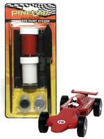 Pine-Car Pinewood Derby Flamin Red Comp Paint System Pinewood Derby Decal and Finishing #p3957