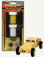 Pine-Car Pinewood Derby Cosmic Yellow Paint System Pinewood Derby Decal and Finishing #p3959