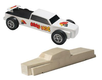 Pine-Car Pinewood Derby Truckster 4x4 Pre-Cut Designs Pinewood Derby Car #p3966