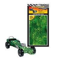 Pine-Car Pinewood Derby Gator Custom Body Skin Pinewood Derby Decal and Finishing #p3979