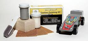 Pinewood Derby Finishing Kit GT Gray Pinewood Derby Car #p405