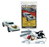 Pine-Car Pinewood Derby Designer Kit Screamin Eagle Pinewood Derby Car #p413