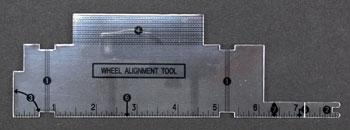 Pine-Car Pinewood Derby Alignment Tool Pinewood Derby Tool and Accessory #p456