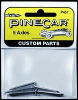 Pine-Car Pinewood Derby Axles (5) Pinewood Derby Wheel and Axel #p457