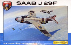 Pilot-Replicas 1/48 SAAB J29F Tunnan Swedish AF Fighter