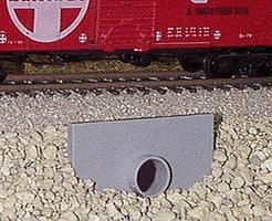 Pike-Stuff Concrete Culvert (2) HO Scale Model Railroad Miscellaneous Scenery #2