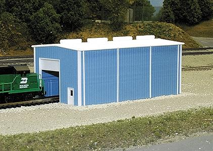 Pike-Stuff Small Enginehouse N Scale Model Railroad Building #8002
