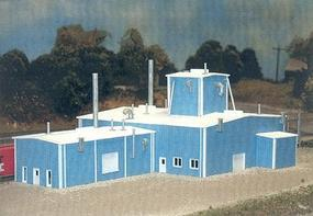 Pike-Stuff Milton A. Corporation 80 x 130 (blue) N Scale Model Railroad Building #8016