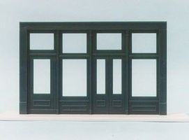 Pike-Stuff 20 Store Front (Flush Entry) HO Scale Model Railroad Building Accessory #st2