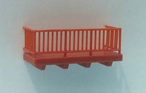 Pike-Stuff Balcony Kit HO Scale Model Railroad Building Accessory #st6