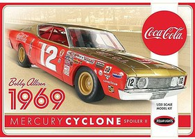 Polar-Lights 1/25 1969 Mercury Cyclone, Coca Cola/Bobby Alliso