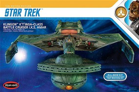 Polar-Lights Star Trek Klingon K't'inga Science Fiction Plastic Model Kit 1/350 Scale #950