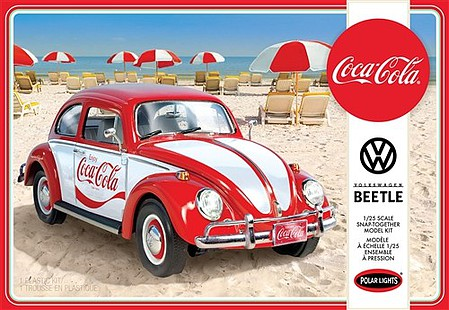 Polar-Lights 1/25 Coca Cola VW Beetle Car (Snap)