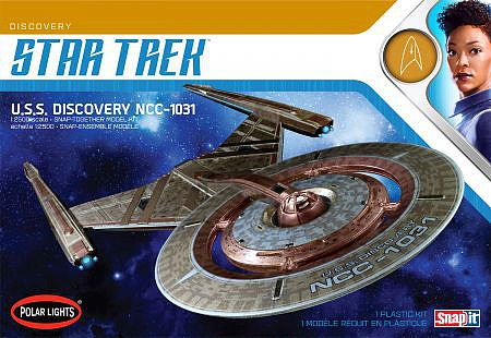 Polar-Lights 1/2500 Star Trek USS Discovery