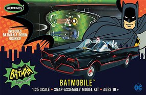 Polar-Lights 1-25 66 BATMOBILE