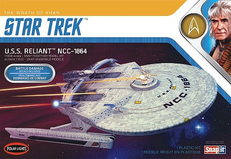 Polar-Lights 1/1000 STAR TREK USS ENTE