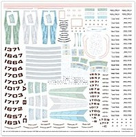 Polar-Lights 1/1000 Star Trek Supplemental Starship Decals