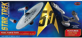 Polar-Lights Star Trek TOS U.S.S. Enterprise Pilot Parts Pack Science Fiction Model Kit #mka018