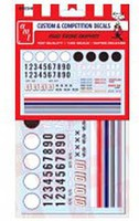 Polar-Lights Road Racing Graphics Decals Plastic Model Vehicle Decal 1/25 Scale #mka023