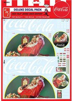 Polar-Lights 1/25 Vintage Santa Clause BigRig Graphics,CocaCola
