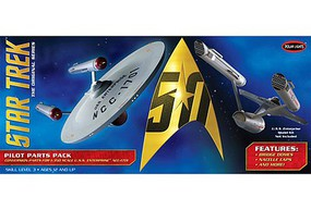 Polar-Lights Star Trek USS Pilot Parts Pack Science Fiction Plastic Model 1/350 Scale #mka18
