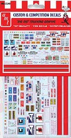 Polar-Lights Big Rig Trucking Graphics Decals Plastic Model Vehicle Decal 1/25 Scale #mka22
