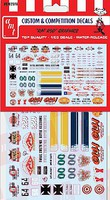 Polar-Lights 1/25 Rat Rod Graphics Decals