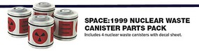 Polar-Lights 1/48 Space 1999- Eagle Transporter Nuclear Waste Canister Parts Pack for MPC