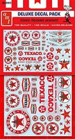 Polar-Lights 1/25 Texaco, Standard, Chevron Trucking Graphics Decals