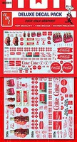 Polar-Lights Coca-Cola Graphics Decals Plastic Model Vehicle Decal 1/25 Scale #mka30