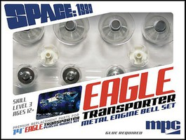 Polar-Lights 1/72 Space 1999- Eagle Transporter Metal Engine Bell Set for MPC #913
