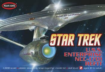 Polar-Lights Enterprise NCC-1701-A Science Fiction Plastic Model Kit 1/1000 Scale #pol820